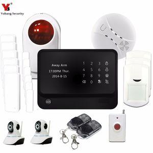 Security Wi-Fi Android App Smart Brgglar GSM Alarm System STROBES SIREN IP-камере наблюдения