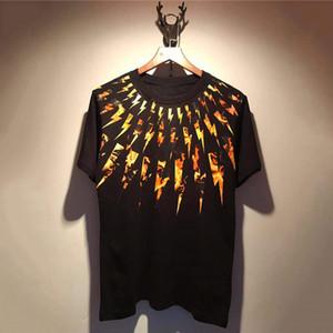 Neue Art und Weise Männer Frauen-T-Shirt der Männer stilvolle Print Kurzarm Herren Hip Hop Tees S-2XL