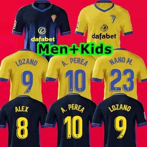 TOP 20 21 نادي قادش كاديز بالقميص لكرة القدم 2020 2021 camisetas دي فوتبول LOZANO ALEX Bodiger خوان كالا CAMISETA SANTANDER قمصان كرة القدم