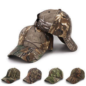 Creative Outdoor Sports Cotton Camouflage Baseball Cap Real Tree Camouflage Outdoor Hat Baseball Army Camo Hat lxj194