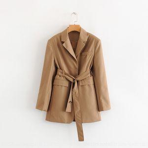 kY4jL костюм Женская одежда осень весна и 2019 новый стиль Y632 бойфренд пояса пальто rWXLd пальто женщин British