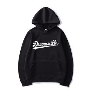 Dreamville Stampa Hip Hop con cappuccio J Cole Moda Streetwear Uomo Donna Casual Felpa con cappuccio Felpa con cappuccio Sport Pullover Unisex Tops LJ200826