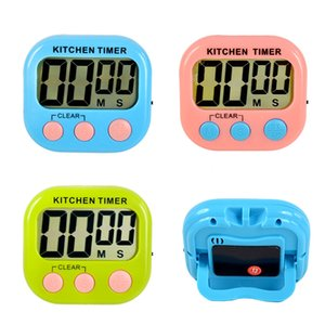 LCD Digital Kitchen Countdown Magnetic Timer Back Stand Egg Cooking Timer Count UP Alarm Clock Kitchen Practical Cooking Tools