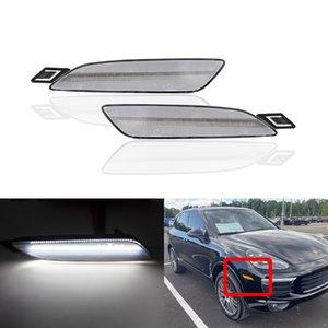 Fits For Gen 958 2020-2020 Clear Lens White Front Fender Led Side Marker Lights Turn Signal Lamp