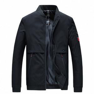 Woodvoice 2020 Mens Jackets autunno casuale cappotti Marca Bomber maschio solido di modo sottile Outwear Men Jacket Jaqueta Masculina IIHd #