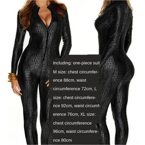 Gl9QK New DS nightclub stage outfit gilded snakeskin one-piece costume New bar DS nightclub stage outfit Bar clothing clothing gilded snakes