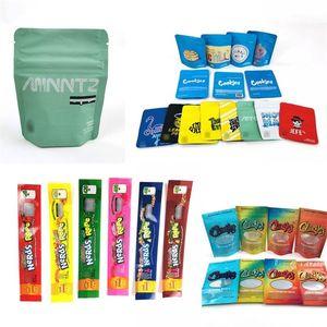 Berry Pie olor a prueba de bolsa resellable Jefe Galletas Mylar Bolsas Sweet Tea Packaging Ziplock bolsa de almacenamiento portátil B2 Multi Estilo