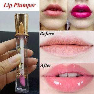 Sexy Liquid Lip Pump Moisturizing Transparent Waterproof Lip Keeping 24 Hours Lasting Makeup Tint Women Beauty Tool