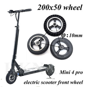 200x50 솔리드 휠 타이어 전기 스쿠터 Ruima위한 스피드 웨이 미니 4 프로 8 인치 휠 교체 액세서리