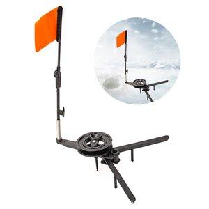 Winter Автоматического Ice Fishing Rod отворот С Бобиной Складного Маркер для зимней рыбалки Аксессуары