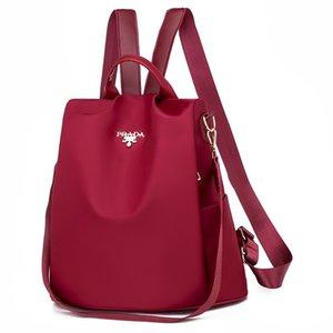 Pelle Deposito Tag2020 Borsa delle donne zaino stile coreano Nuovo casuale borsa zaino del tutto-fiammifero Womens tracolla moda gancio della borsa