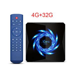 X96Q MAX الروبوت 10.0 التلفزيون الذكية صندوق ALLWINNER H616 4GB 32GB 2.4G 5G ثنائي الموجات واي فاي بلوتوث 4K ميديا بلاير الروبوت التلفزيون مربع X96Q التلفزيون الذكية