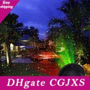 옥외지도 눈송이 풍경 레이저 프로젝터 램프 크리스마스 정원 스카이 스타 레이저 프로젝터 잔디 램프 빛