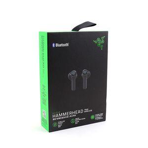 auscultadores sem fios Razer Hammerhead Bluetooth Fones de ouvido de alta qualidade de som de jogos tws fone de ouvido Bluetooth dos esportes fones transporte livre
