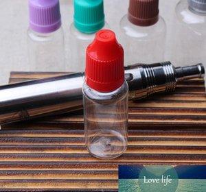 PET Soft Top qualité 15ml bouteille vide en plastique E liquide Bouteilles 15 ml pour E jus cigarette électronique DHL Livraison