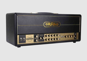Grand Valve Tube Guitar Amplifier Head Jxs120 Style 100W in Black EL34 6L6 Select Switch Preamp 12AX7*4 Power Tube 4*EL34