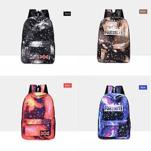 Pirate Fortnite Starry Sky Fortress Nacht Rucksack Sea Rover Daypack Schädel Schoolbag Gut Badge Rucksack Sport School Bag Outdoor Day Pac # 972