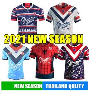 2020 di rugby SYDNEY GALLI ANZAC JERSEY indigena maglie della lega di rugby Australia Sydney Roosters Rugby League NINES camicie sportive