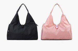 LL Viajar Bolso de yoga Bolsas de mochila Black Pink Sports Bags Hombro al aire libre y gjmwi