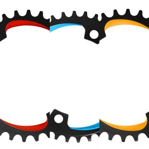 VTT creux bicyclette intégré dentée unique bicyclette de vitesse 32T 34T 36T 38T disque denté modifié seul disque
