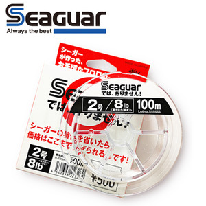 SEAGUAR White LABEL Original fishing line 4LB-20LB 100% FLUOROCARBON Fishing Lines 100M T200824