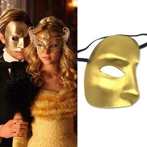 Phantom of the Opera Máscara One-eyed Máscara Stage Desempenho Props Dia das Bruxas do Half Men face Masquerade