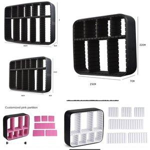 EVA 상자는 내측 프레임 화장품 가방 라이닝 내측 지원 파티션 PK3BV 화장품 백 성형 일체화
