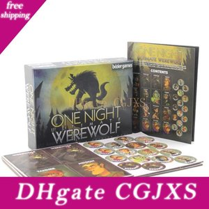 3 -10 Partido Popular Board Game Werewolf Kills Uma noite eram Lobo One Night final Werewolf Bêbado Potável Card Game