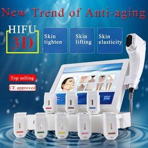 Winkonlaser Hifu 3D 20000 Schüsse Anti-Falten-8 Patronen Hifu 11 Linien Face Lift Körper schlank Hautstraffung 3D Hifu Maschine Uiwp #