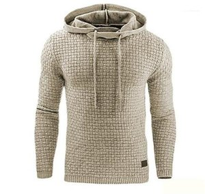 Regular Length Casual Apparel Mens Designer Pullover Fleece Hooded Hoddies Long Sleeve Solid Color Homme Clothing Fashion