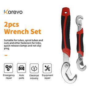 2ST 9-32mm Wrench Set Universal Tasten Multi-Funktions-Adjustable Tragbarer Drehmomentratsche Ölfilterschlüssel Hand Reparatur Werkzeuge
