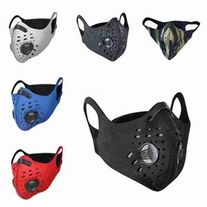 Outdoor Sports Anti-dust Mask for Riding Waterproof Dustproof Face Mask with Breathing Valve Riding Cycling Masks CYZ2626
