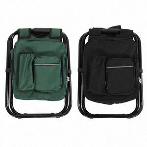 TOPINCN multi fonctionnelle portable Chaise pliante solide en tissu Oxford pêche Tabouret dzUW #