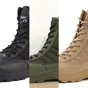 alto-top esportes dos homens ao ar livre Esportes ao ar livre de combate de guerra War caminhadas fã Army Men Mulheres botas de deserto botas táticas