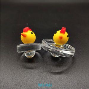 Popular Handmade Silicone Glass Bubble Carb Cap Glass UFO Carb Cap Hat style dome for Quartz banger Quartz Thermal Banger Nails 11