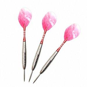 Fox Sorrindo 3pcs Professional Darts 23g Outro Golf produtos Golf Rosa Aço Dica Darts Para Indoor Professional Dartboard Jogos RqFM #