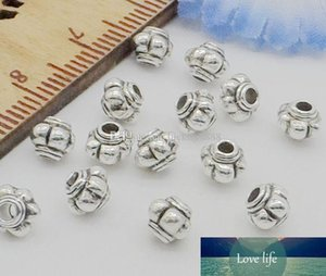 1000Pcs lot Tibetan Silver Spacers Beads For Jewelry Making DIY 4x5mm
