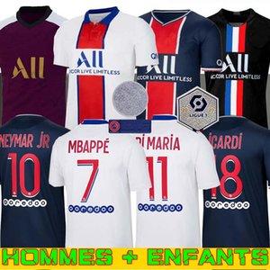 كرة القدم جيرسي 20 21 camiseta دي فوتبول 2020 2021 Maillots عدة دي قميص كرة القدم للرجال + الاطفال
