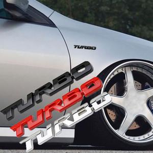 1 pieza JDM Pegatinas y calcomanías Metal 3D Turbo Emblem Auto Styling Accesorios para Ford Focus 2 BMW Opel Astra H Volkswagen