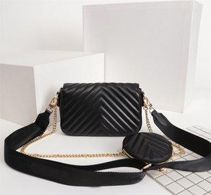 디자이너 새로운 가죽 럭셔리 패션 메신저 가방 여성 가방 좋아하는 멀티 포 셰트 뉴 웨이브 4 색