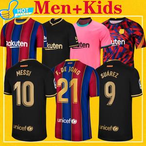 Top-Thailand-Qualität 2021 Fußball-Trikot Home Away Third 20 21 BAR Herren Kinder Kit Fußballhemden