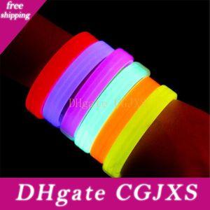 Musique Activé Bandeaux son contrôle Led clignotant Bracelet Light Up Bangle Night Club Wristband Party Activité Disco Bar Cheer