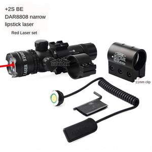 Hot vente ensemble manchon de 11mm dispositif infra millimètres et de la vue au laser vert ensemble Hot vente de 11mm rétrécissent dispositif de millimètre infrarouge rouge de manchon Narrow