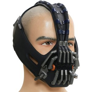 The Dark Knight Rises Halloween Cosplay Costume Prop Bane Mask Destroyer Mask Batman Movie Character PVC Helmet Hood Masque Toys
