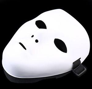JabbaWockeeZ маска маски Halloween Party Mask HALLOWEEN Hip-Hop Пляска Дух ПВХ чистого белого маскарад маски