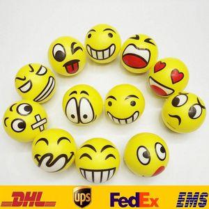 QQ İfade Komik Topu Toys 6,3cm Çocuk Yüz QQ El Porselen Duygusal Chirstmas Parti Hediyeleri HH-T29 dXFm # Boyalı