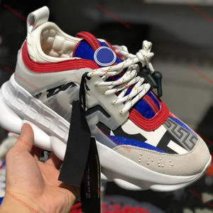 Versace casual shoes los hombres ocasionales de la marca de moda de alta calidad, bajo-top zapatillas de deporte, un juego completo de la entrega gratuita de zapatos originales