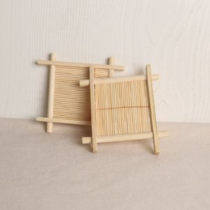 New Wooden Natural Bamboo Soap Dishes Tray Holder Storage Soap Rack Plate Box Container Portable Bathroom Soap Dish Storage Box