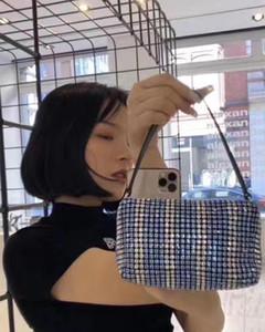 Geldbörsen MITATE Diamant Handtaschen für Frauen Neue 2020 Weibliche Tasche Diamant Luxus Tägliche Tasche Dropshipping Schulter Dame Hot Bling Kleine CLUT OUHE