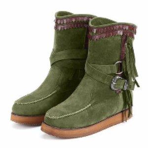 Peluche Slip-On Primavera Autunno Stivali Donne Lapolaka 2020 vendita calda grande Taglia 43 Scarpe piattaforma Comfy Snow Boots donna